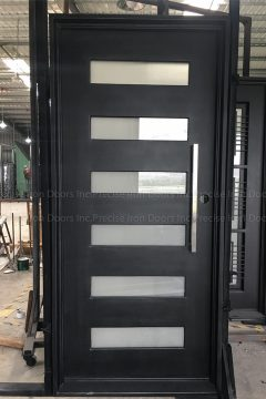Zeus Six Single Entry Iron Door