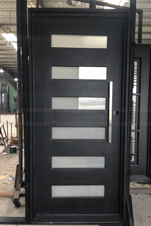 Zeus Six Single Entry Iron Doors 37 x 81 (Right Hand)