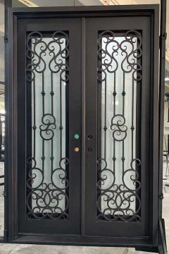 Alexandria Double Entry Iron Doors 91 x 96 (Left Hand)