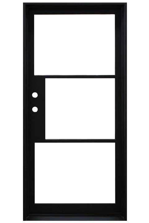 Elite Single Entry Iron Doors 37 x 81 (Right Hand)
