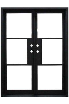 Elite Double Entry Iron Doors 61 x 81 (Left Hand)