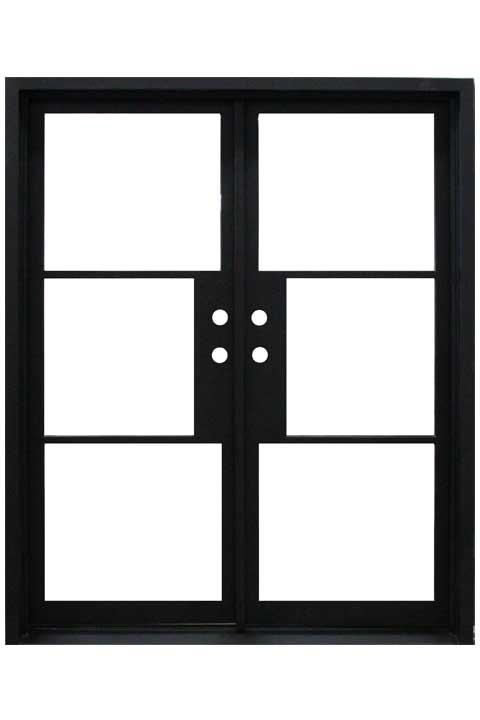 Elite Double Entry Iron Doors 65 x 81 (RightHand)