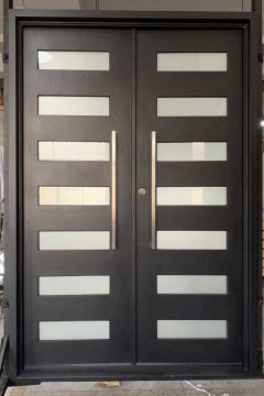 Zeus Double Entry Iron Doors 61 x 96 (Left Hand)
