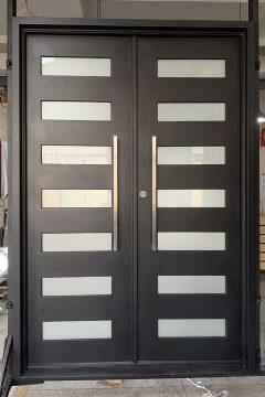 Zeus Double Entry Iron Doors 65 x 96 (Left Hand)