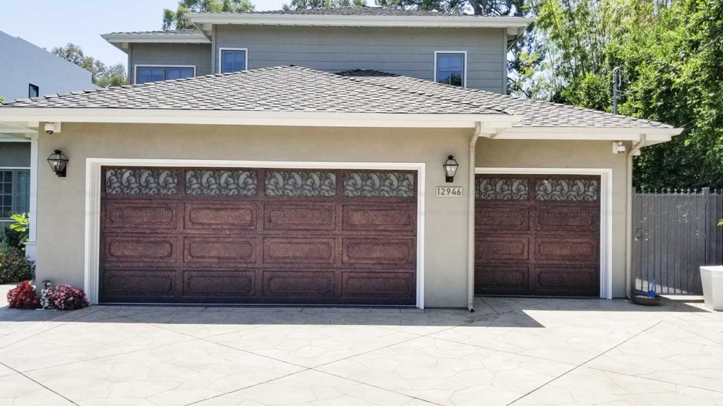 Custom Iron Garage Doors