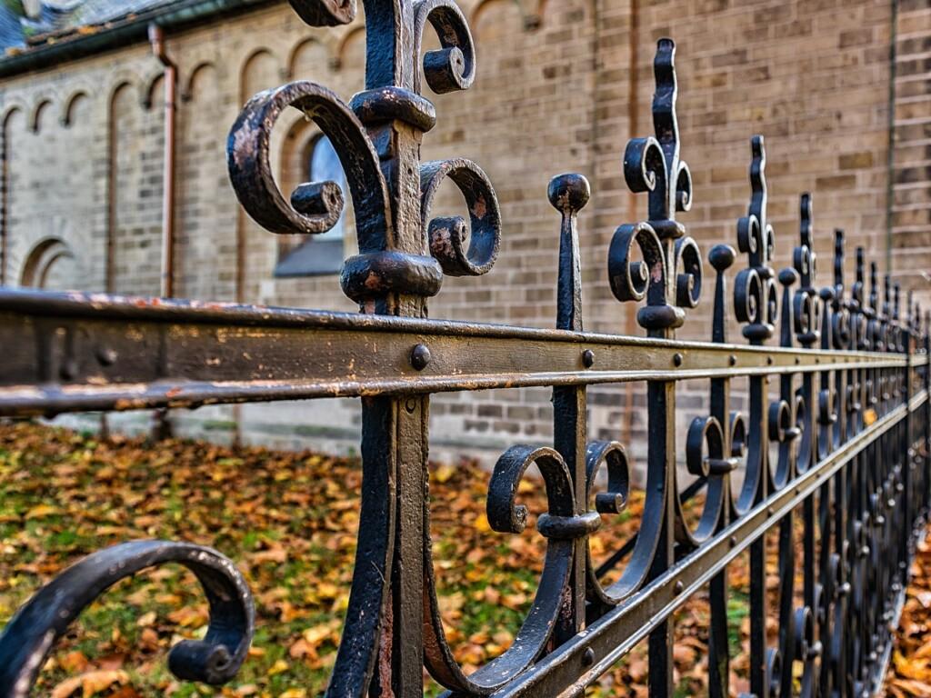 metal decorative fence