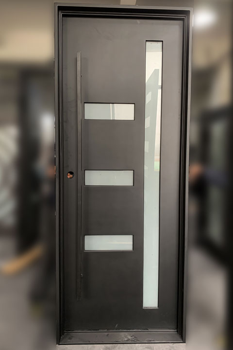 Avant Single Entry Iron Doors 38 x 96 (Right Hand)