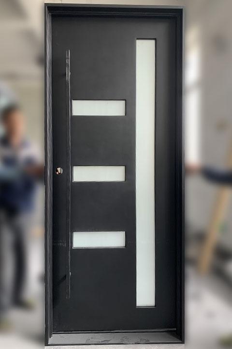 Avant Single Entry Iron Doors 40 x 96 (Right Hand)
