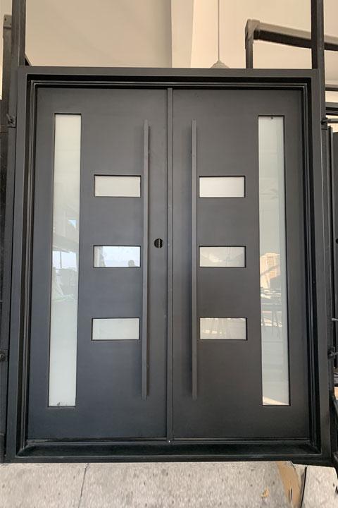 Avant Double Entry Iron Doors 61 x 81 (Left Hand)