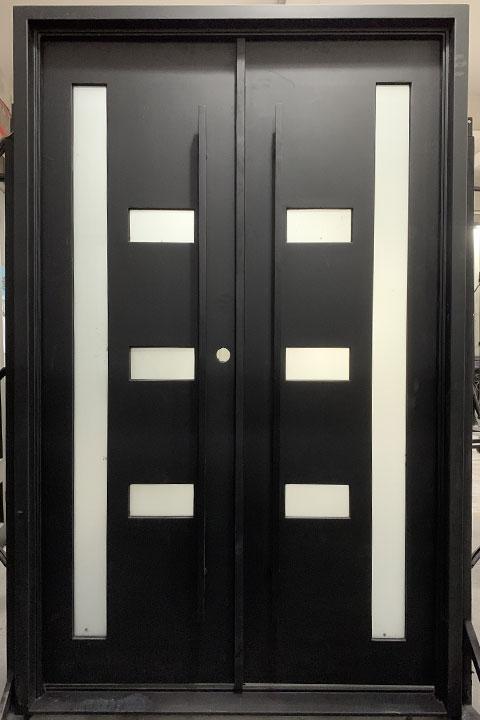 Avant Double Entry Iron Doors 61 x 96 (Right Hand)