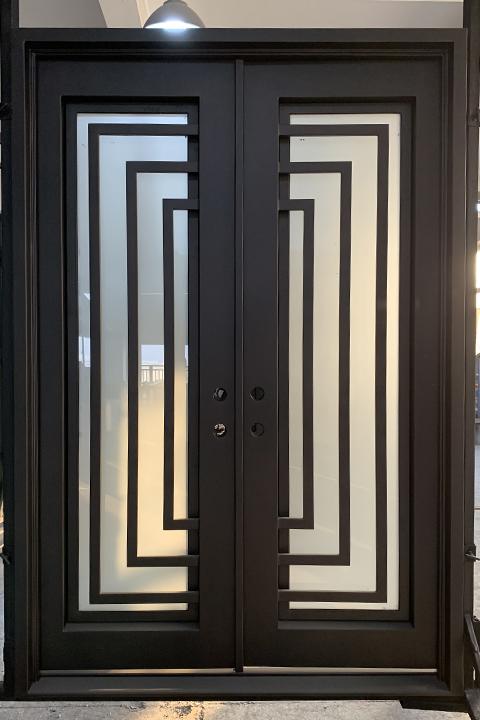 Balcan Double Entry Iron Doors 65 x 96 (Left Hand)