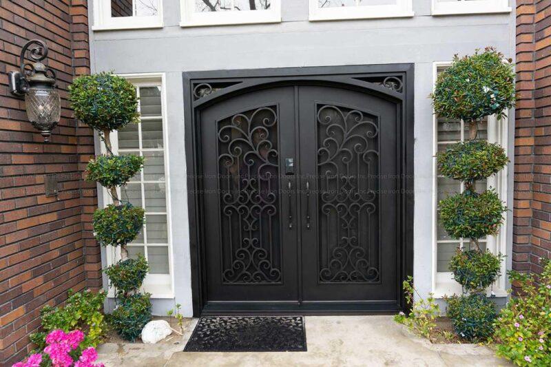Denver wrought iron door