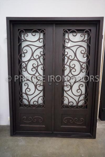 Napoli Double Entry Iron Doors 61 x 81 (Right Hand)