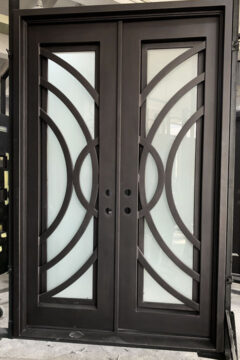 Vector V3 Double Entry Iron Doors 61 x 96 (Left Hand)