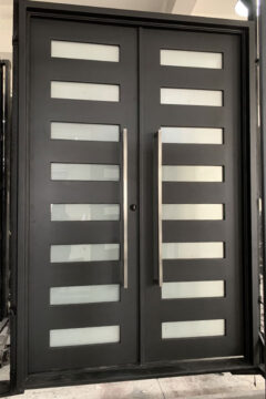 Zeus Double Entry Iron Doors 72 x 108 (Right Hand)