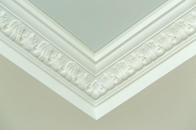 Decorative ceiling molding.