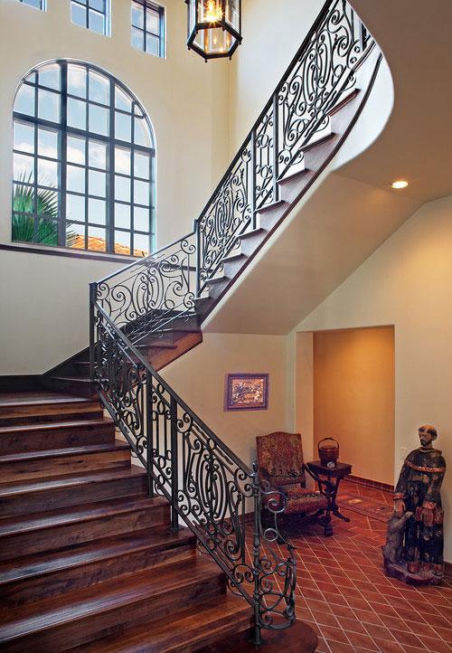 ornament cast iron stair railing